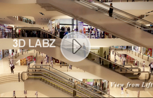 Shopping Mall 3D Animation